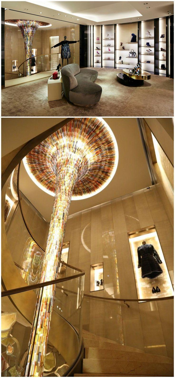 Fendi Flagship Store | Interior Retail Store Design in Paris, France