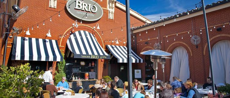 One of the many restaurants located in Southlake Town Square, just steps away from The Garden District! #southlake
