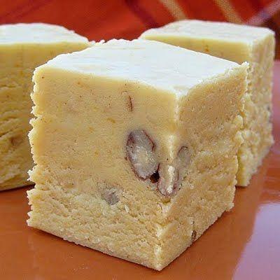 Pumpkin Fudge | Real Mom Kitchen: Food Sweet, Sweet Treats, Holidays Recipe, Fall Recipe, Pumpkin Fudge, Mom Kitchens, Real Mom, Clever Ideas, Favorite Recipe