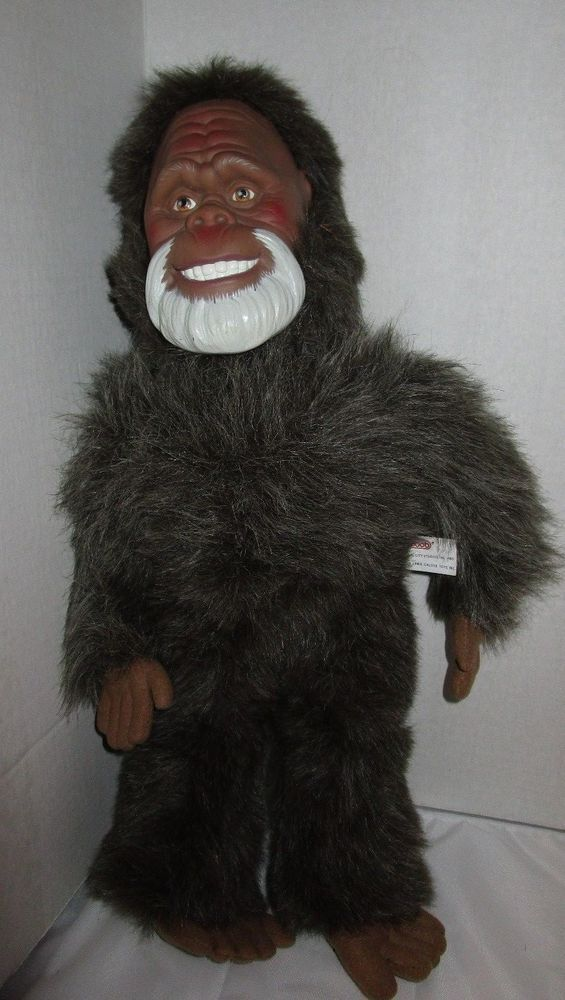 """Vintage 1990 Harry and the Hendersons 19"""" Plush Bigfoot Sasquatch Doll By Galoob #Galoob"""