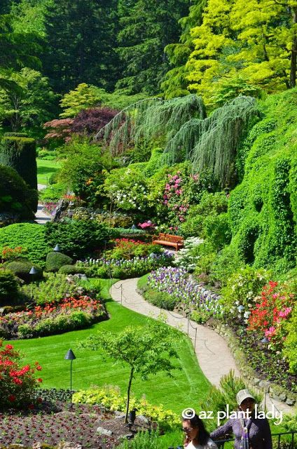 RAMBLINGS FROM A DESERT GARDEN....: Road Trip Day 7: The Beauty of Butchart Gardens