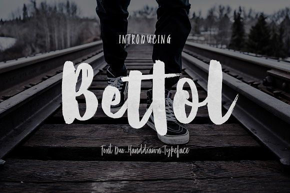 Bettol (Font Duo) by jorse on @creativemarket