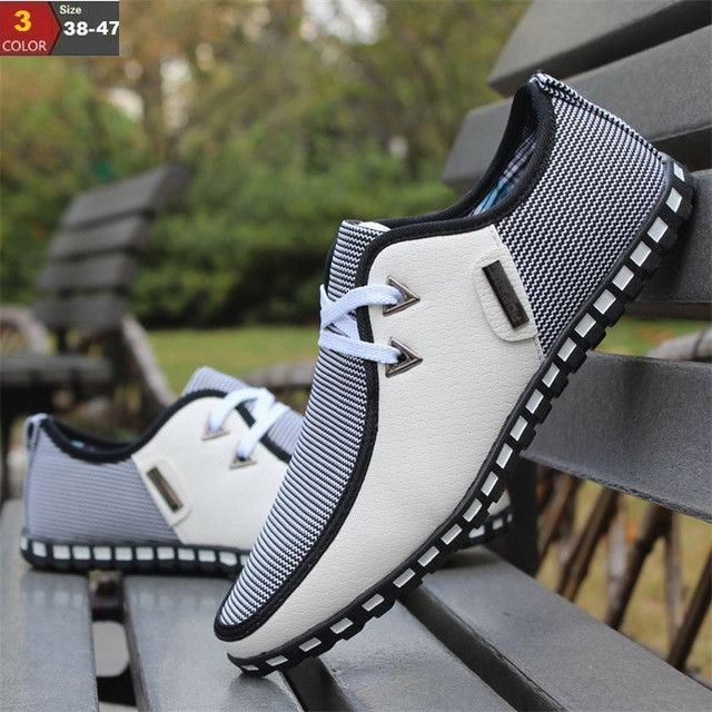 Casual easy on easy off unique loafers