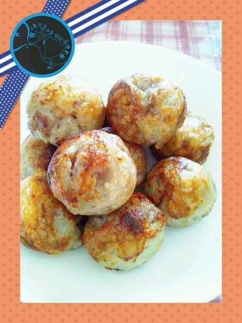 たこ焼き器でモチモチじゃが豚ボール♪ by チョコパウダー [クックパッド] 簡単おいしいみんなのレシピが213万品