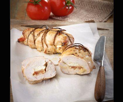 Κοτόπουλο στήθος γεμιστό με φέτα, τομάτα και μουστάρδα - biscotto.gr thessaloniki life guide