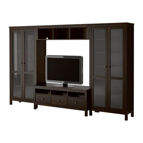 Media Room Storage: HEMNES TV Storage Combination IKEA $1613
