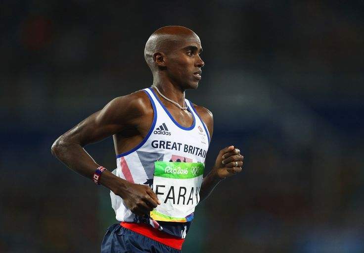 Mo Farah fell during his Olympic race. He still won gold -   The look on Mo Farah's face when he was bundled down onto the track revealed alarm, because the fall was testament to the fact that there can be n...