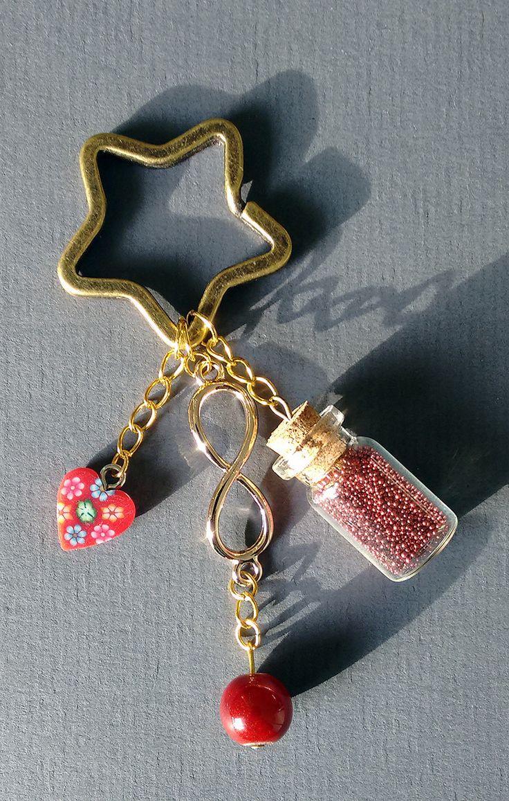 """Porte clés """"Love Eternity"""" : Porte clés par maddy-crea"""