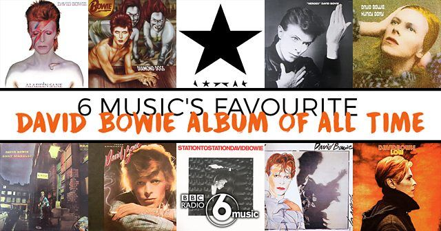 BBC Radio 6 Music - Gideon Coe - 6 Music's Favourite David Bowie Album of All Time Vote