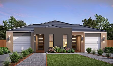 Our Render Grace  Facade. Visit our website for more information on our range of options for your new home.