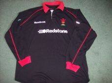 2002 2003 Wales L/s Rugby Union Away Shirt Adults XL