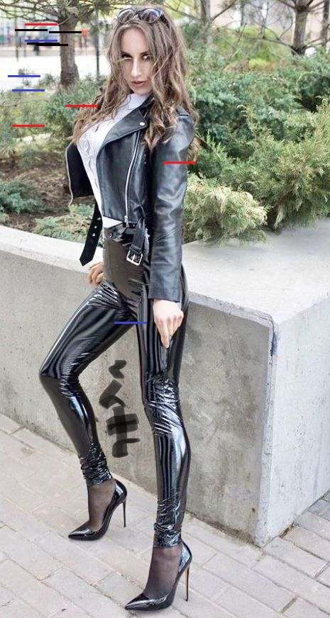 pin von f f auf fashion frauen in leggings leder leggings lack