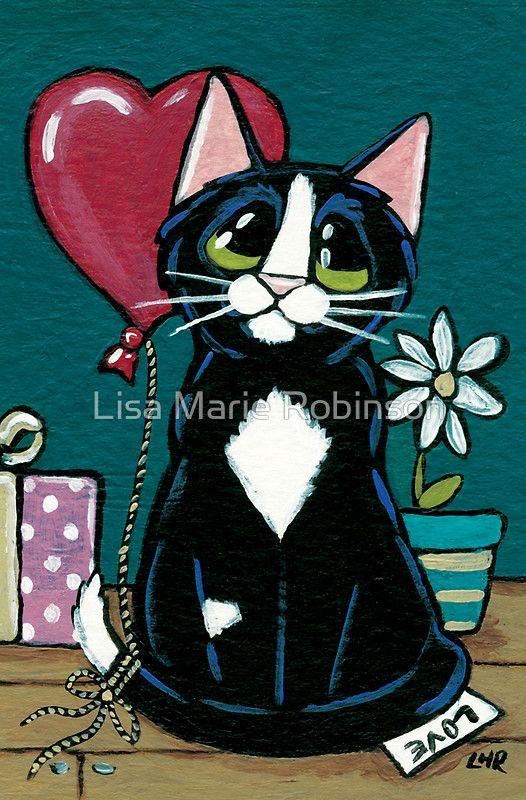 """Tarjeta de felicitación """"Regalos de amor"""" de Lisa Marie Robinson"""