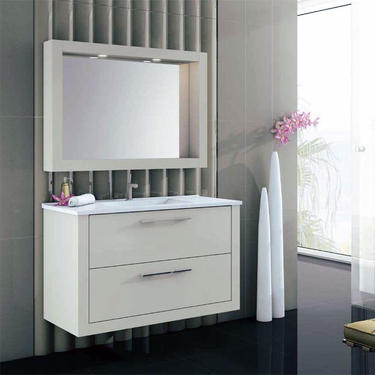 original y completo espejo del mueble de bao diamant como podeis ver os sirve como