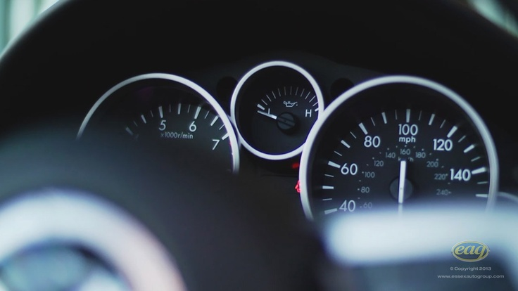 Speedometer dials let you know how you car is performing.