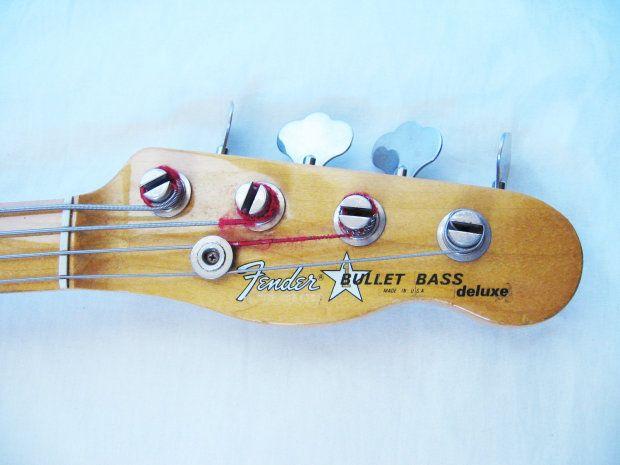Fender Bullet Deluxe Active 4str Bass 1981