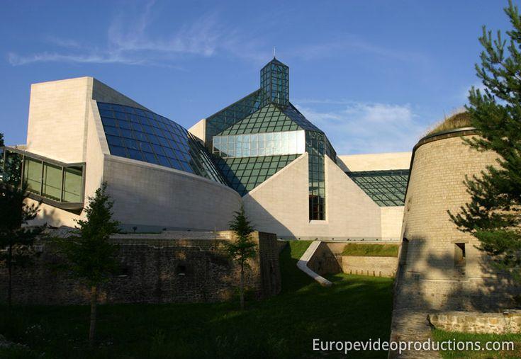 Musée MUDAM dans la ville de Luxembourg