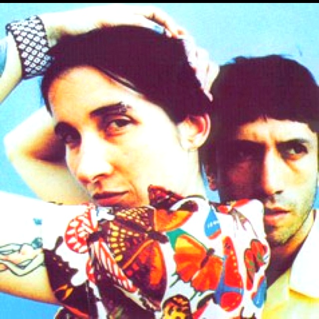 Aterciopelados, my favorite Colombian band.  I would have never survived 1998 without them.  BTW Andrea now lives in LA.