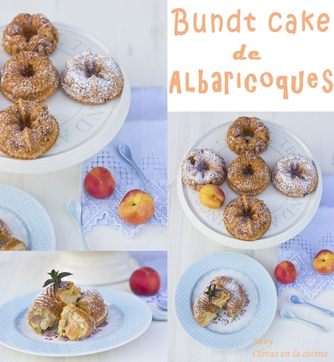 Bundt Cake de albaricoques.  http://rositaysunyolivasenlacocina.blogspot.com.es/2013/06/bundt-cake-de-albaricoques.html