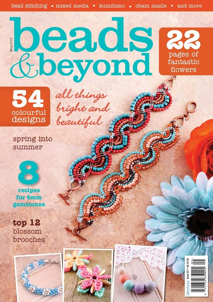 258 best beading books and magazines images on pinterest beads beyond may 2015 fandeluxe Images
