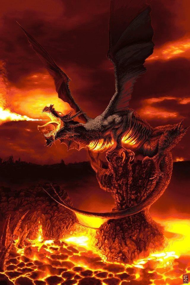 miscellaneous fire dragon picture - photo #20
