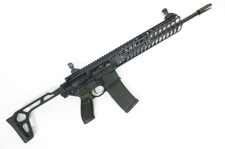 """SIG SAUER MCX CARBINE 16"""" WITH FOLDING STOCK IN 5.56 NATO."""