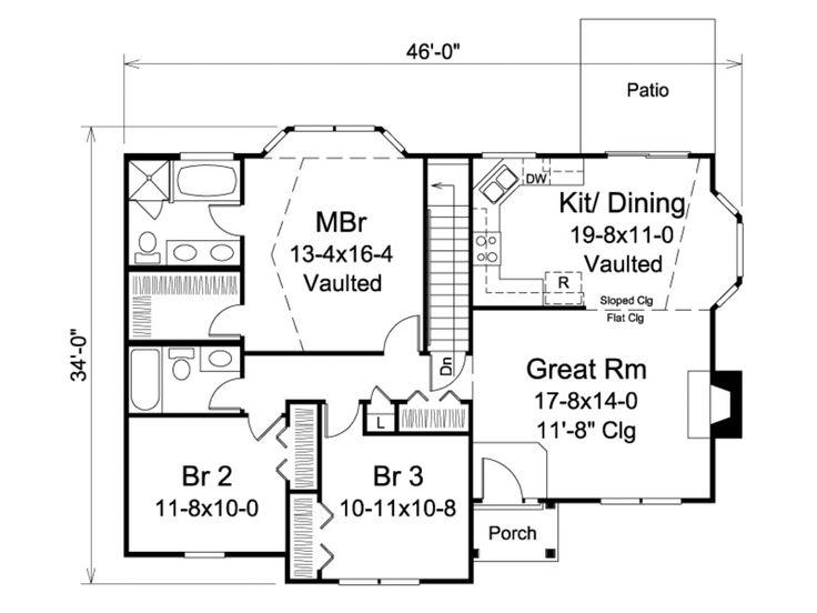 370 best House Plans images on Pinterest | Car garage, Floor plans ...