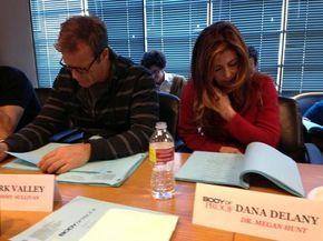 Mark Valley and Dana Delany