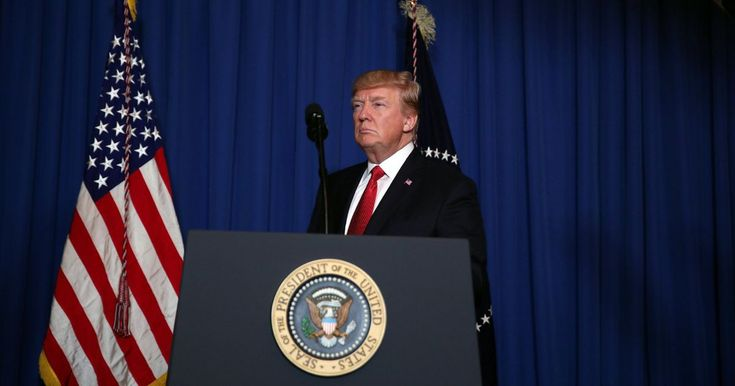 """President Trump said it was in the """"vital national security interest"""" of the US to deter the use of chemical weapons"""