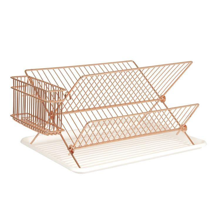 Egouttoir à vaisselle cuivre (PT3116CO) : achat / vente Egouttoir à vaisselle sur maginea.com