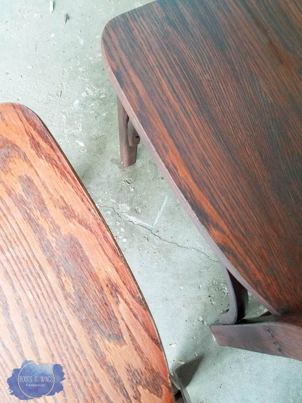 Toning Wood Restoring Furniture Without Stripping Roots Wings Llc