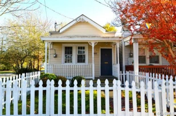 Richmond, VA   You can have the American dream of a white picket fence and a tiny house too with this small home, located in Virginia. There's a lot of room for personality in the recently remodeled interior, so get moving—we'd snap this one up in a heartbeat.  Location: Richmond, VA Square Feet: 740 Price: $80,000