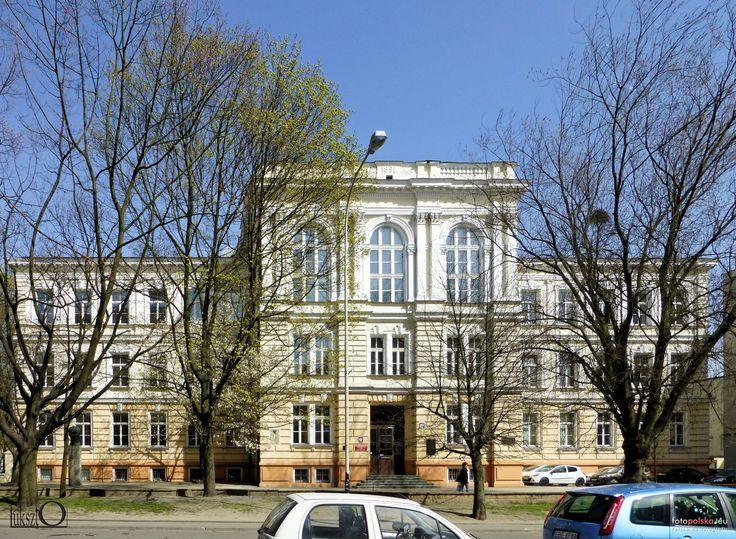 Poland, Lodz, Sienkiewicza46, III Liceum Ogólnokształcące im. Tadeusza Kościuszki.
