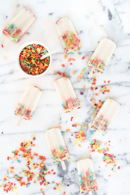cereal pops to kick off the new year!