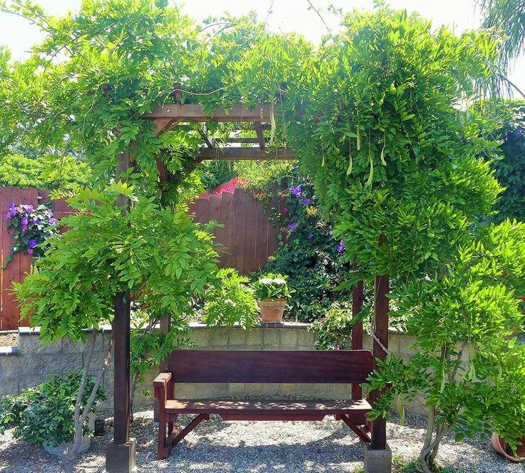 11 best Forever Redwood Garden Pergolas images on Pinterest | Arbors ...