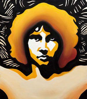 Sound#2, oil on canvas, 53.0×45.5, 2013 for James Douglas Morrison