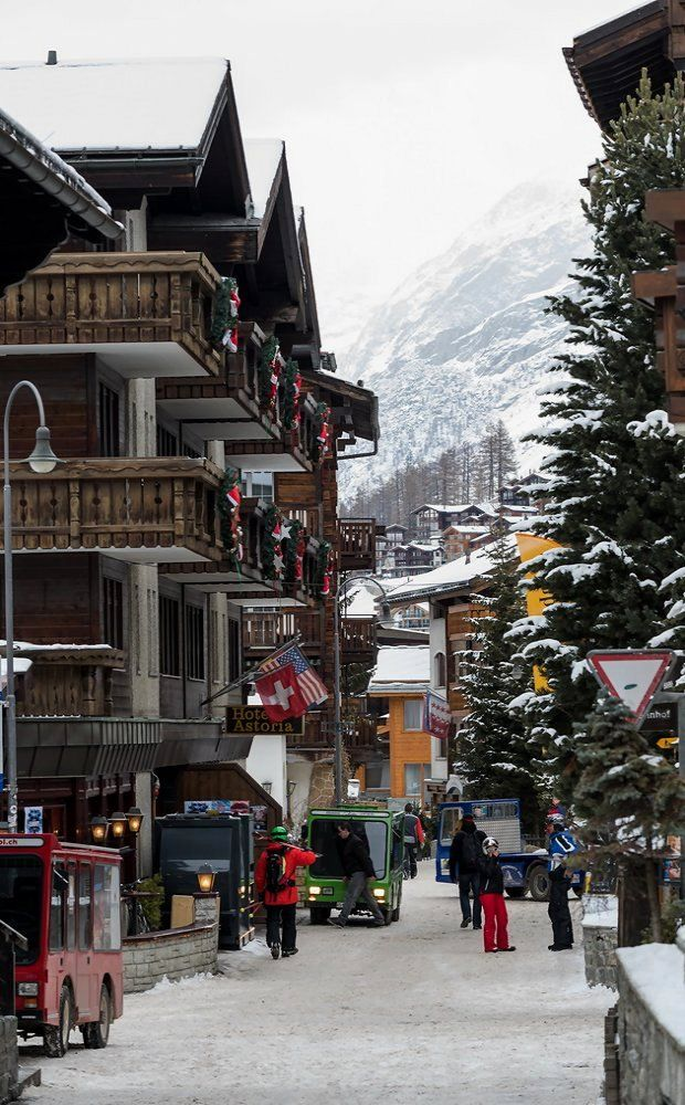 Zermatt in Canton of Valais, Switzerland
