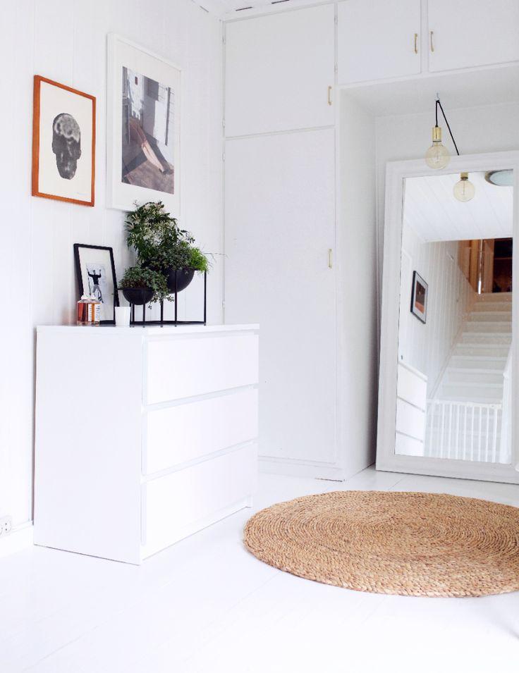 Ingrid Holm Blog - IKEA Malm white, Kubus by Lassen