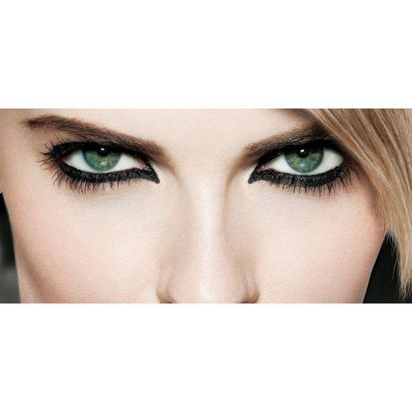 Eye Makeup - Eyeliner Pencil - Black Eyeliner - Kajol ($8.50) ❤ liked on Polyvore