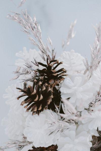 Une inspiration romance en montagne pour un mariage en hiver Image: 16