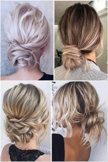 49 Trendy Bridal Hairstyles Updo For Long Hair Messy Buns
