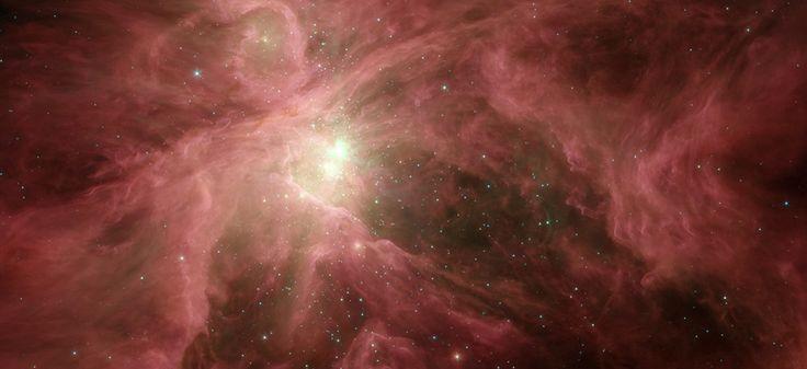 Orion / NASA/JPL-Caltech/T. Megeath (University of Toledo, Ohio).La vie extraterestre bientot decouverte !!!