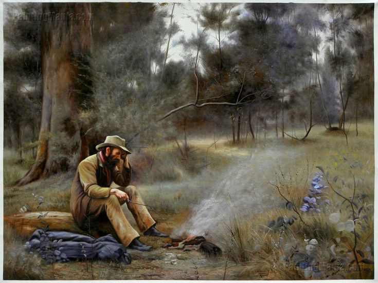 Down on His Luck by Frederick McCubbin