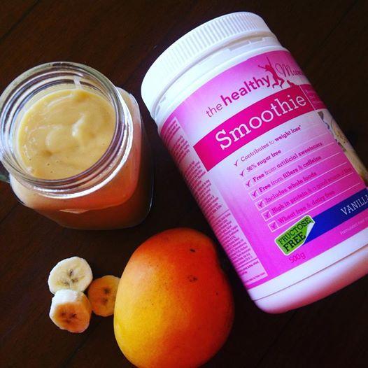 Creamy Mango Healthy Mummy Smoothie Recipe