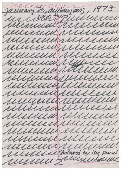 51 Best Images About Hanne Darboven On Pinterest