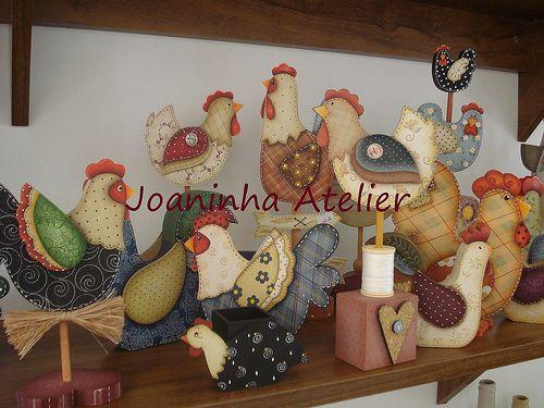 Coleção galinhas