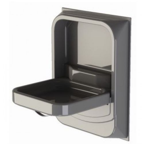 Perfecto Silver Tip-up Sink Basin Designed for small shower washrooms where space is limited 670H x 520W x 1355D including handle - closed Has a, Bathroom Basins for caravan and motorhomes, caravan washrooms bathrooms equipment, motorhomes bathrooms accessories, Christmas, caravan and motorhome accessories shop, caravan equipment, end of year sale, new year sale, Tents camping equipment and accessories, camper caravan equipment ,awnings,motorhome and campervan DIY conversion parts. Kayaks..