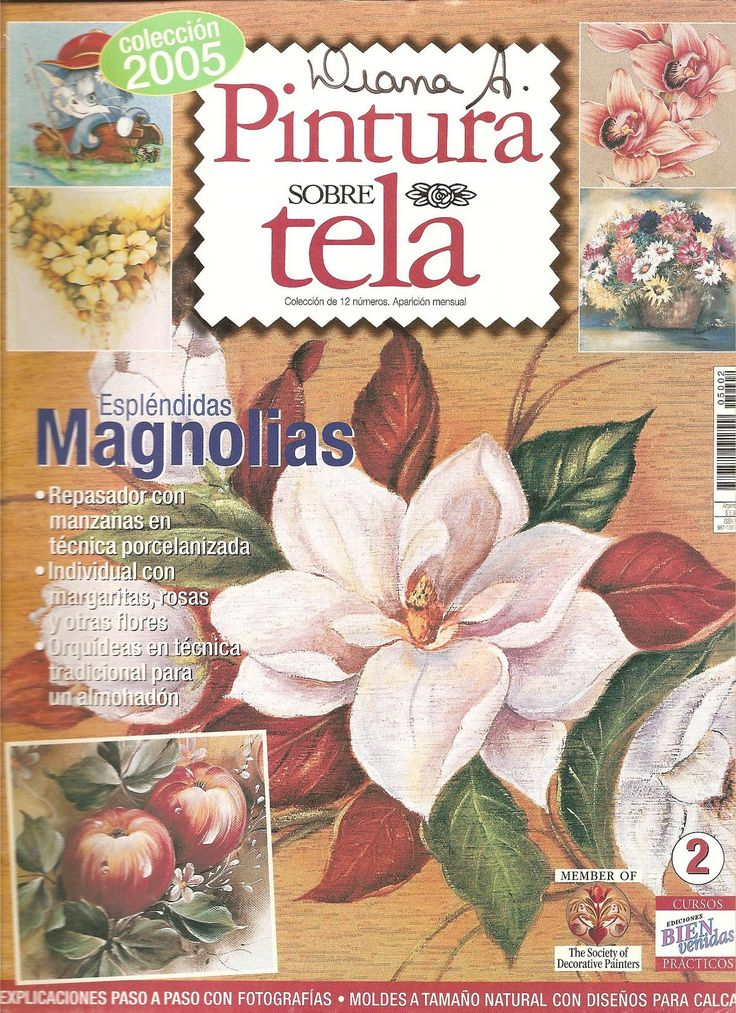 Revistas De Manualidades Para Descargar Pintura En Tela N°2