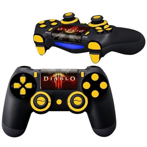 diablo 3 ps4 Controller skin Full Buttons kit - Decal Design