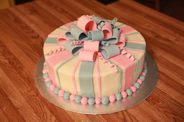 Baby Shower Cakes For Unknown Gender ~ Baby shower cake for unknown gender double chocolate